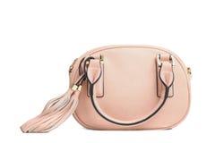 Female pink bag Royalty Free Stock Image