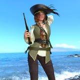 Female pirates Royalty Free Stock Photography
