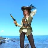 Female pirates Stock Photo