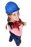 Female plumber Royalty Free Stock Image