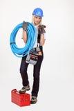 Female plumber Stock Photography