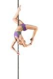 Female Pole dancer Stock Photos