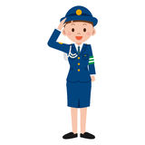 Female police officers Royalty Free Stock Photos