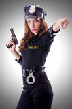 Female police  Stock Photography