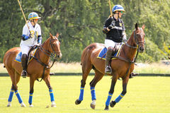 Female Polo players. Argentine cup. Dublin. Ireland Royalty Free Stock Image