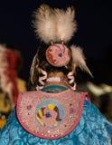 Female Pow-wow Dancer Stock Photography