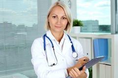 Female practitioner Stock Photo
