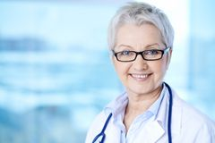 Female practitioner Stock Image