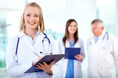 Female practitioner Stock Photography