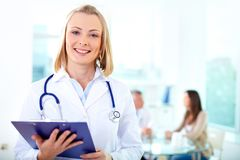 Female practitioner Stock Images