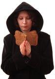 Female praying. Royalty Free Stock Image