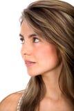 Female profile Stock Photos