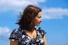 Female profile Royalty Free Stock Photos
