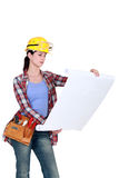 Female project manager Royalty Free Stock Photography
