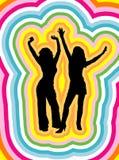 female psychedelic απεικόνιση αποθεμάτων
