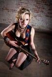 Female Punk Rocker Royalty Free Stock Photos
