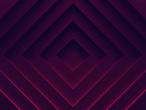 Female purple abstract background. Rhombuses. 3D illustration. Works for text and website background, print and mobile application Stock Photo