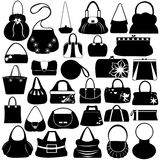 Female Purse Set Stock Image