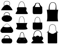 Female purse set Stock Photo