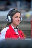 Female race team member Stock Photo