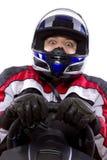 Female Racer Stock Photo