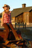 Female Ranch Hand Stock Photos