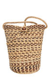 Female rattan wicker handbag Royalty Free Stock Images