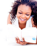 Female reader Stock Images