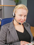 Female Receptionist Stock Photos