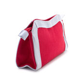 Female red handbag Stock Image