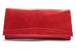 Female red purse Royalty Free Stock Photography