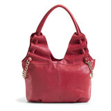 Female red purse Stock Photos