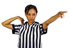 Female Referee Royalty Free Stock Photo