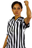 Female Referee Royalty Free Stock Photography