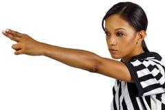 Female Referee Stock Photos