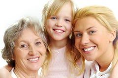 Female relatives Stock Image