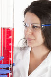 Female Research Scientist Royalty Free Stock Image