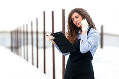 Female researcher technician Stock Photography
