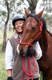 Female rider Stock Photo