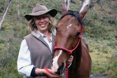 Female rider Royalty Free Stock Photo