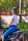 Female rider Stock Photos