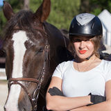 Female rider Royalty Free Stock Images