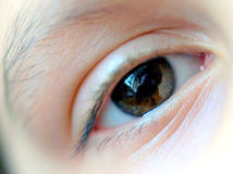 Female right eye. Royalty Free Stock Photography
