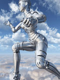 Female robot Royalty Free Stock Photography