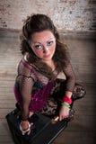 Female rocker Stock Image