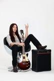 Female rocker Stock Images