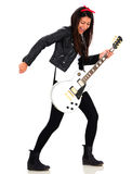 Female rocks star Royalty Free Stock Images