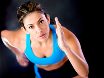 Female runner Royalty Free Stock Photography