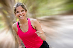 Female runner Royalty Free Stock Image