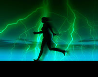 Female Runner 33 Stock Photography